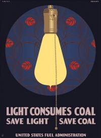 Light Consumes Coal poster