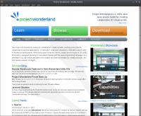 Project Wonderland Web Site
