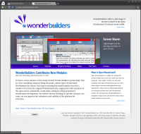 WonderBuilders Website - Home