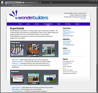 WonderBuilders Website - Portfolio
