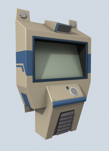 Communication terminal sample render