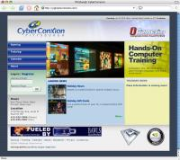 Pittsburgh CyberConXion web site design.