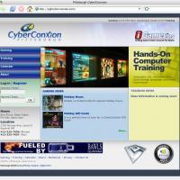 Pittsburgh CyberConXion web site design.