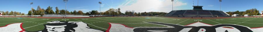 CalU, Adamson Stadium photographed by Atlas Design Group